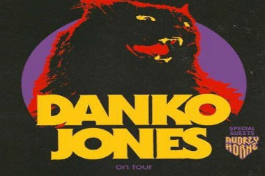 Danko Jones with Audrey Horne on tour in Europe.