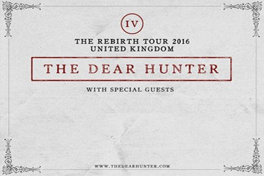 Dear Hunter on tour in Europe dates 2017