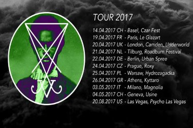 Zeal and Ardor europe tour.